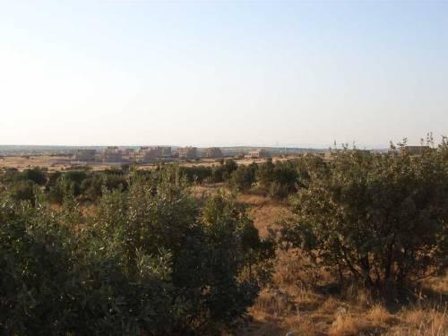 Blick auf Kafro von Harabale herkommend