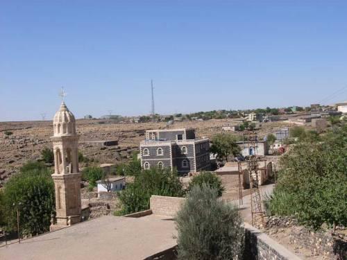 In Idil: Blick von der Kirche in die Umgebung