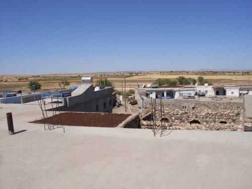Im Dorf Miden : Blick vom Kirchendach