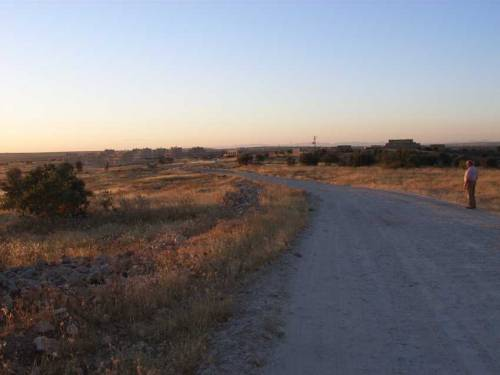 Blick auf Kafro in der Abendsonne