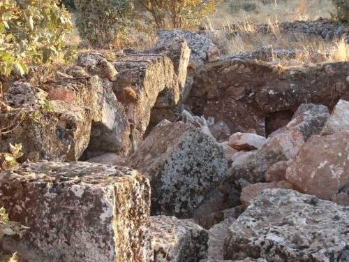 Überreste der ältesten Kirche in Kafro