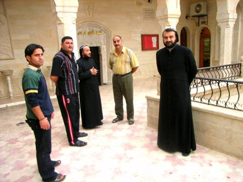 Assyrian Aid, Heiligtum der Yeziden, Mar Mattai