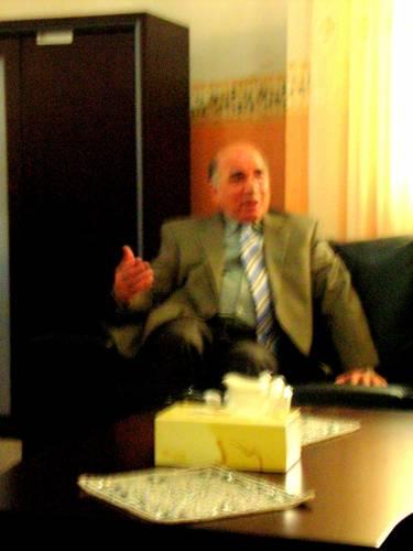Gespräche mit Politikern in Erbil