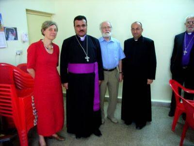 Gespräche mit Pfarrern in Telskuf