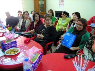 Gespräche mit Frauen Organisationen in Telskuf