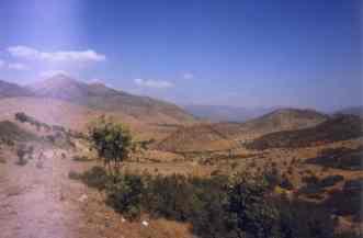 Landschaft Nordirak