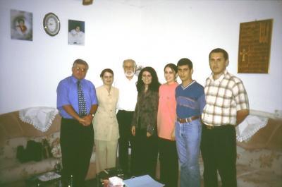 Studenten von CAPI im Jahr 2003