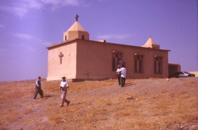 Neue armenische Kirche in Azvrok