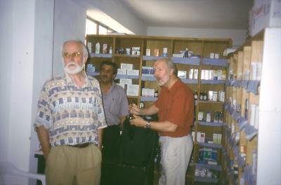 Besuch in der Apotheke von Smail in Dohuk