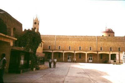 Innenhof des chaldäischen Klosters