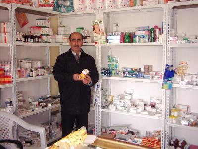 Medizinische Station in AlQosch
