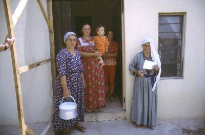 Armenische Christinnen in Avzrok