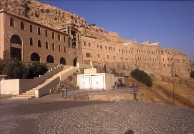 Syrisch Orthodoxes Kloster St. Matthew 344 n.Chr. in der Nähe von Mosul