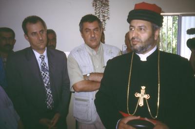 Bischof Isaak von der Kirche des Ostens