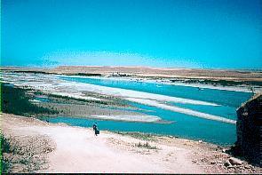 Tigris als Grenze zwischen Syrien u. Nordirak