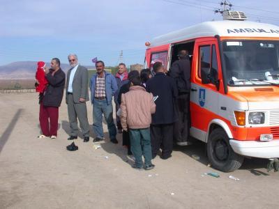 Die mobile Klinik von der Ev. Landeskirche in Württemberg finanziert