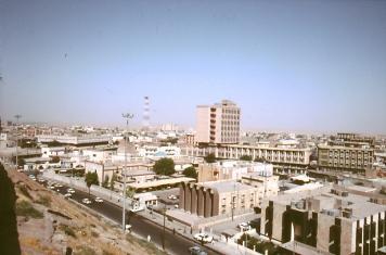 Blick auf Erbil von der Zitadelle