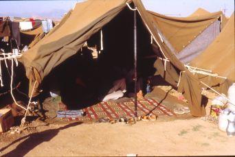 Flüchtlingszelt 1991