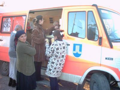 Die mobile Klinik wird erwartet