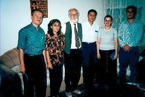 Studenten von CAPI im Jahr 1999