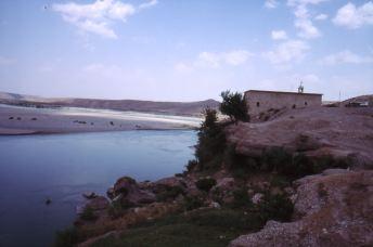 Kirche aus dem 10. Jhd. in Fish Habur am Tigris