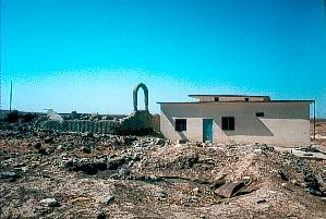 Zerstörung in Bahktemi 1991