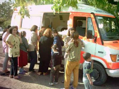 Viele kommen und suchen Hilfe