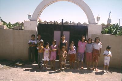 Wo wir hinkamen, waren auch gleich Kinder versammelt
