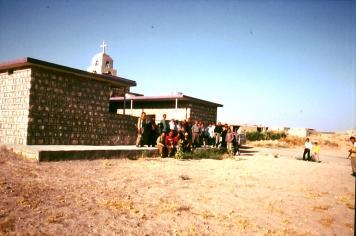 Neue Kirche in Bahktemi