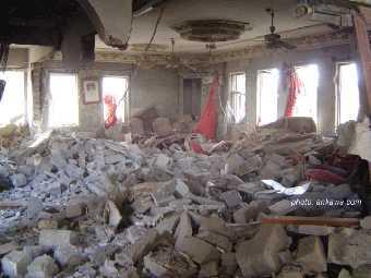 Auch Kirchen sind Zielscheibe von Zerstörungen