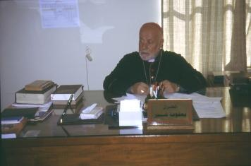 Chaldäische Bischof Yacob in Erbil