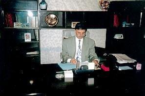 Minister Yonadam Kanna im Jahr 1997 in Erbil