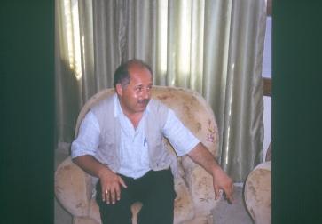 Narsai Warda im Jahr 2003 in Mosul