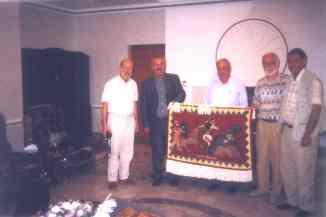 Beim assyrischen Minister Hanna Yonan in Erbil