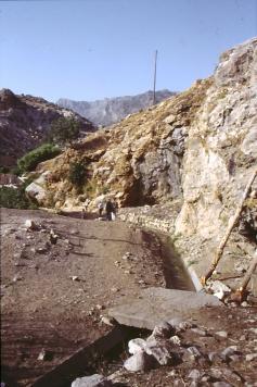 Der Wasserkanal in Hassana