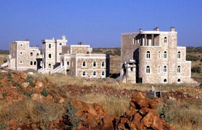 Neue Häuser im Tur Abdin - im Jahr 2005