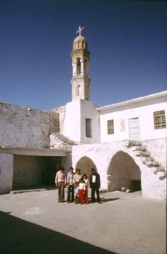 Die Kirche in Miden - im Jahr 1994