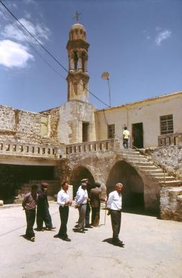 Die Kirche in Miden - im Jahr 1984