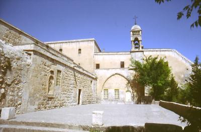 Kirche in Mardin - alte Patriachatskirche
