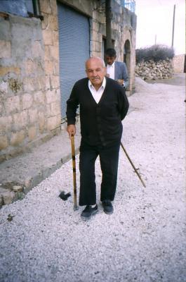 Alter Mann in Anhil - im Jahr 1997