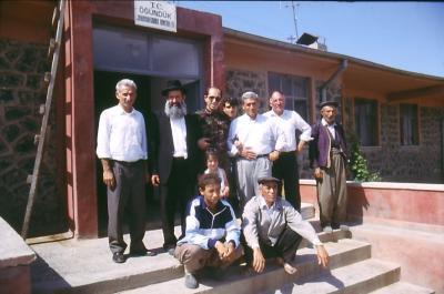 Besuch beim Dorfkommandanten - im Jahr 1984