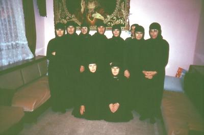 Die Gemeinschaft der Nonnen im Kloster Mar Gabriel - im Jahr 1994
