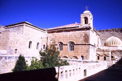 Kirche inm Kloster Deir el Zafaran