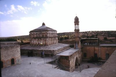 Die Klosteranlage in Hah