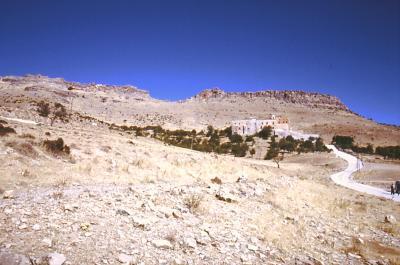 Auf dem Weg zum Kloster Deir el Zafaran