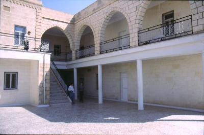 Die renovierte Klosterschule in Mar Gabriel - im Jahr 1984