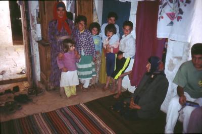Familie in Harabale - im Jahr 1995