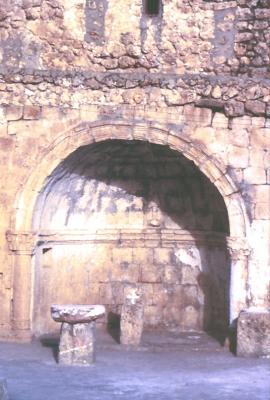Die Taufkapelle von Bsorino