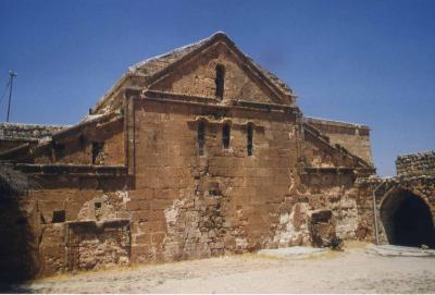 Die Kirche von Salah aus dem 5. Jhd. - im Jahr 1983