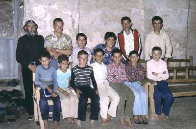 Dorfschule in Salah - im Jahr 1983
